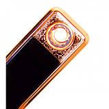 Зажигалка спиральная USB ZGP-1. Цвет: синий, фото 8