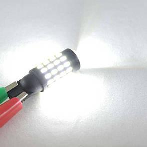 Лед лампа в габарит SLP LED, цоколь W5W(T10) 54 led 3014, 9-30 В. Белый, фото 2