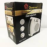 Тепловентилятор Domotec MS-5903 2в1, фото 3