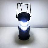 Туристический фонарь-лампа на солнечной батарее CAMPING G85 Черный, фото 9