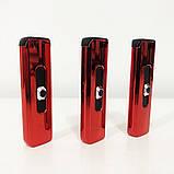 Зажигалка электрическая. Цвет: красный, фото 8