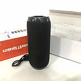Bluetooth-колонка TG-117 портативная влагостойкая. Цвет: черный, фото 9
