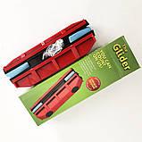 Щетка магнитная для мытья стекол с двух сторон Glider Красная, фото 9