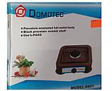 Газовая плита DOMOTEC MS-6601 на 1 конфорку. Цвет: белый, фото 2