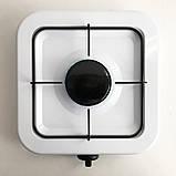 Газовая плита DOMOTEC MS-6601 на 1 конфорку. Цвет: белый, фото 5