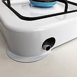 Газовая плита DOMOTEC MS-6601 на 1 конфорку. Цвет: белый, фото 6