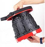Раскладной стул, складной табурет Retractable Stool. Цвет: красный, фото 6