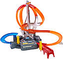 Хот Вилс Мега авто трек Головокружительные Виражи, Spin Storm Playset Hot Wheels, фото 2
