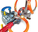 Хот Вилс Мега авто трек Головокружительные Виражи, Spin Storm Playset Hot Wheels, фото 4