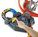 Хот Вилс Мега авто трек Головокружительные Виражи, Spin Storm Playset Hot Wheels, фото 6