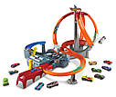Хот Вилс Мега авто трек Головокружительные Виражи, Spin Storm Playset Hot Wheels, фото 7