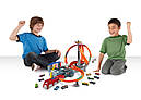 Хот Вилс Мега авто трек Головокружительные Виражи, Spin Storm Playset Hot Wheels, фото 8