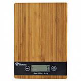 Весы кухонные DOMOTEC MS-A Wood, фото 3