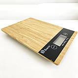 Весы кухонные DOMOTEC MS-A Wood, фото 7