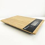 Весы кухонные DOMOTEC MS-A Wood, фото 8