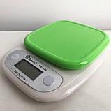 Весы кухонные DOMOTEC MS-125 Plastic. Цвет: зеленый, фото 9