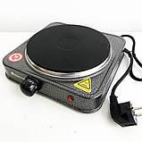 Электроплита DOMOTEC MS-5811 1Д. 1500 watt, фото 3