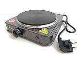 Электроплита DOMOTEC MS-5811 1Д. 1500 watt, фото 4