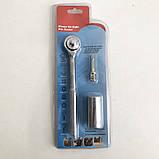 Трещотка с универсальной головкой Instantly Grips any Shape 7-19 мм, фото 3