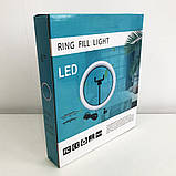 Кольцевая лампа 16 см (USB, 5Вт, 3200-5500К), фото 7