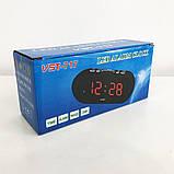 Часы VST VST-717 настольные 220В будильник, фото 4