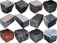 Изделия из гранита -брусчатка,плитка,бордюры