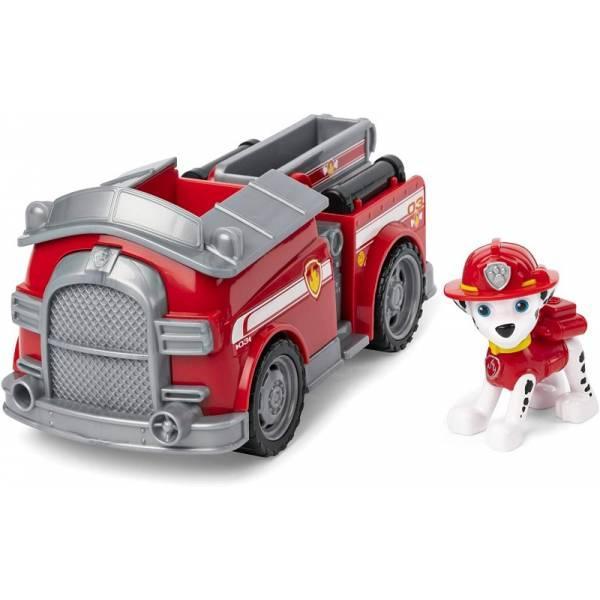 Paw Patrol  Щенячий патруль Маршал с пожарной машиной Marshall's Fire Fightin' Truck Marshall
