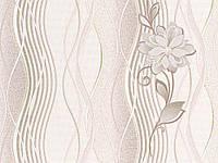 Обои Виниловые на бумажной основе  Славянские обои Лия М32501   10,05х0,53м Бежевый 4824033155515, фото 1