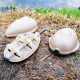 """Рыболовная кормушка Флет """"Flat Feeder SL """" с пресс-формой в комплекте , вес 80 грамм, фото 3"""