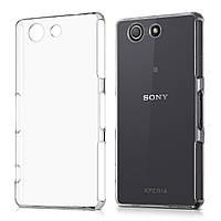 Чехол Силиконовый Ультратонкий Remax для Sony D5803 Z3 Compact Прозрачный, фото 1