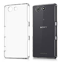 Чехол Силиконовый Ультратонкий Remax для Sony D5803 Z3 Compact Прозрачный