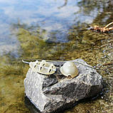 """Рыболовная кормушка Флет """"Flat Feeder SL """" с пресс-формой в комплекте , вес 80 грамм, фото 4"""