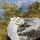 """Рыболовная кормушка Флет """"Flat Feeder SL """" с пресс-формой в комплекте , вес 80 грамм, фото 5"""