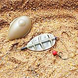 """Рыболовная кормушка Флет """"Flat Feeder SL """" с пресс-формой в комплекте , вес 80 грамм, фото 8"""