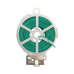 Подвязка(Проволока)Веревка Изолированная Для Подвязки Растений с Диспенсером L=30 м FLO 88805