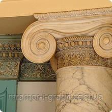 Колонны из мрамора и гранита