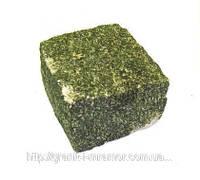 Зеленая брусчатка