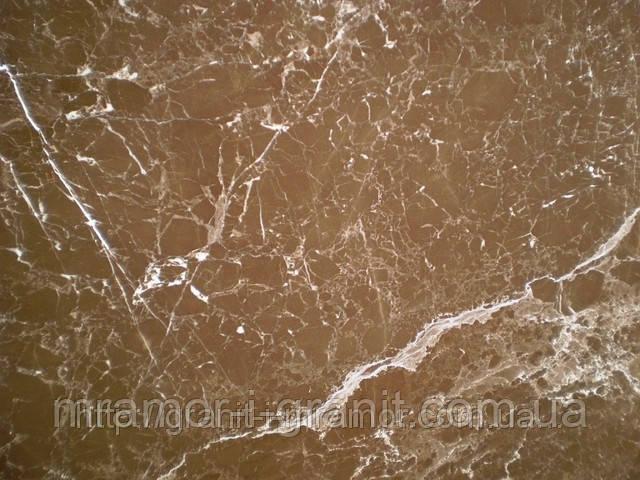 Мраморные слябы (коричневый мрамор)