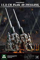 Немецкая зенитная пушка 12.8 cm FlaK 40 Zwilling 1/35