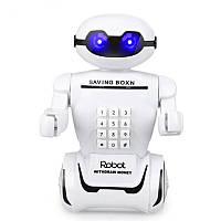 Детская копилка сейф Robot PIGGY BANK с кодовым замком Интерактивная детская игрушка