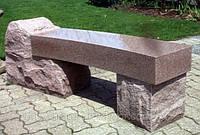 Скамейки из гранита, фото 1