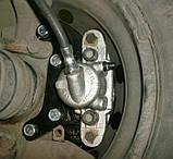 Планшайбы Нива 2121-21214, 2123 для установки тормозных механизмов 2108 на переднюю ось, фото 2