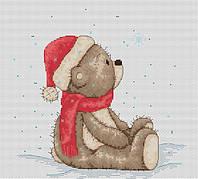Набор для вышивки крестом Luca-S B1100 Медвежонок Бруно