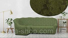 Чехол на угловой диван, разные цвета, Турция
