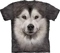 Детская футболка THE MOUNTAIN - Alaskan Malamute Face
