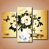 """Модульная картина цветы """"Ваза с цветами""""- триптих, фото 2"""