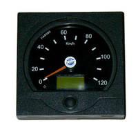 Спідометр 24В електрон. Ø140мм під датчик ПД8089, ПД8089-1, ПД8093 (квадрат. кришка) МАЗ пр-во ВЗЭП (Арт.