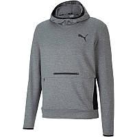 Худи Puma RTG Men's Training Hoodie 581507 03 (серый, мужской, спортивный, для тренировок, логотип пума)