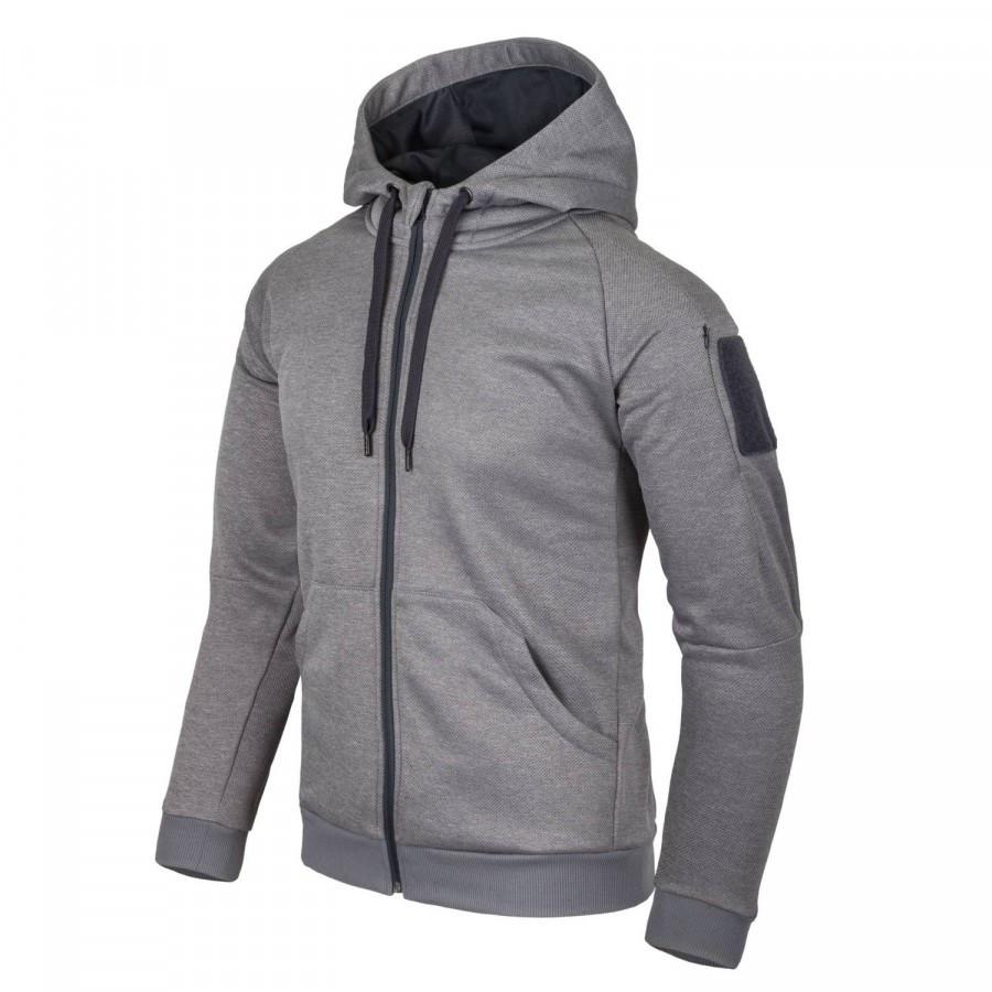 Куртка URBAN TACTICAL HOODIE Grey Melange