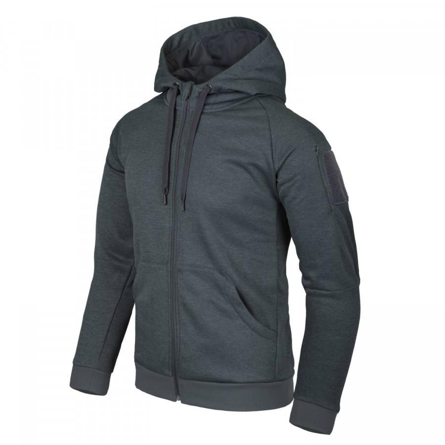 Куртка URBAN TACTICAL HOODIE Black/Grey Melange